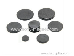 Economic black epoxy coating bonded ndfeb magnet disc for stepper motor