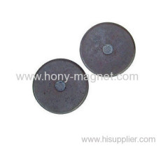 Radical magnetization disc bulk neodymium magnets