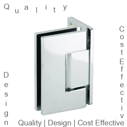 Wall to Glass 90 Degree Shower Door Hinge