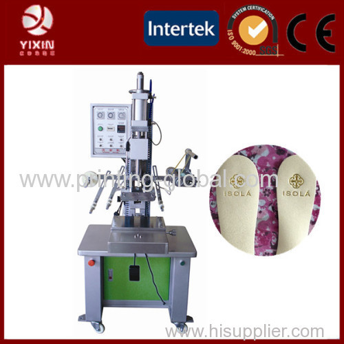 Heat press machine for print label