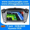 Ouchuangbo Car DVD GPS Language Bluetooth TV for Hyundai IX35 USB /SD Video Media Player