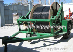 Cable Carrier Drum Trailer cable reel carrier trailer