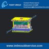 plastic packaging boxes molded/ iml mold iml container mould/ iml plastic mould