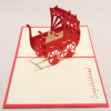 Love and valentine 3d greeting card