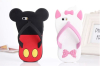 3D silicone slippers phone case covers for iPhone 6 and Samsung
