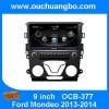 Ouchuangbo Car Stereo Radio DVD Player S100 Platform for Ford Mondeo 2013-2014 GPS Bluetooth TV 20 disc
