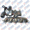 Turbo Charger with 6G9N 6K682 AA