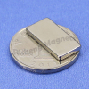 N45M with High Temp. 100°C Sintered Neodymium NdFeB Block Magnets 15x4x4 mm with Ni-Cu-Ni Coating