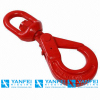 Stainless Steel Hook G80 Swivel Self Locking Hook for Rigging Hardware