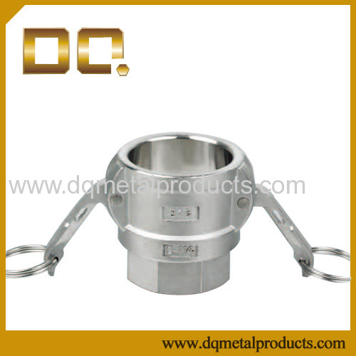 Stainless Steel Coupler Female