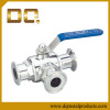 Sanitary Valve Series Three-way Type Clamp Ball Valve