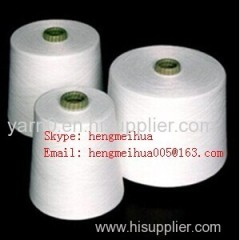 Polyester Spun Yarn Virgin 38S Raw White
