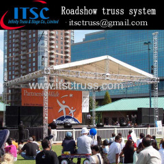 Roadshow Pin truss pyramid roof system