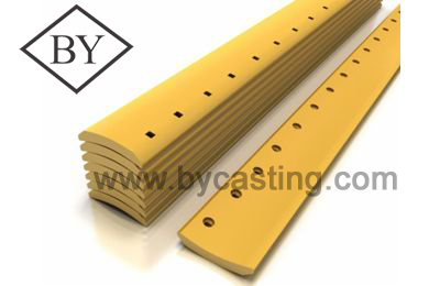 Backhoe parts Curved grader blade for Motor grader