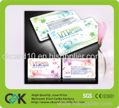 pvc business card printing