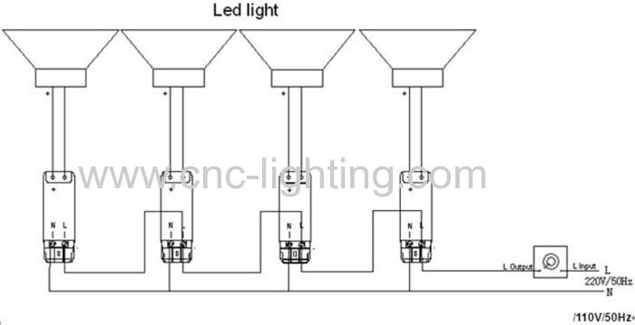 Downlights Wiring Diagram