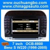 Ouchuangbo Auto DVD Stereo Radio for Mercedes Benz S W220 (1998-2005) GPS Navigation iPod Bluetooth TV