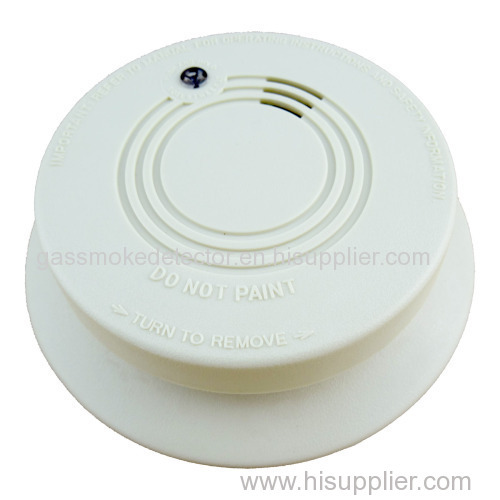 Wireless Photoelectric Smoke Detector Tester Sensor Detection Fire Alarm System With Back-Up Battery