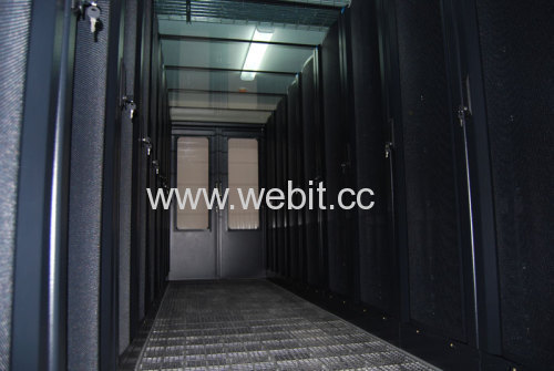 Data Center with air-conditioner