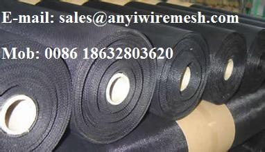 Sell Galvanized Black wire cloth or Black wire mesh