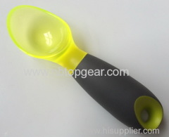 Hot sale High quality TPR non-slip grip plastic ice cream spoon