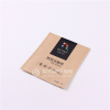 Customize 3-side Seal Kraft Paper Instant Coffee Packaging
