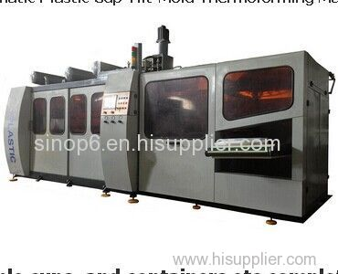 Automatic Plastic Cup Tilt-Mold Thermoforming Machine