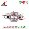 best selling stainless steel non-stick cookware set