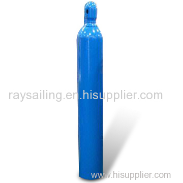 Steel Oxygen Cylinder with High Pressure and 0.5 to 145L Water Capacity