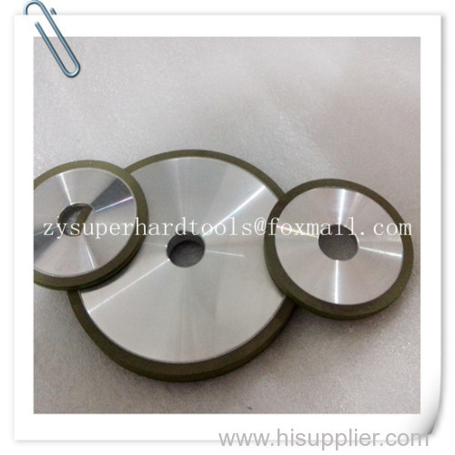 1A1 Flat Resin bond diamond grinding wheels D150-H20--X10-T10