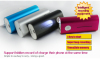 Long Time Voice Recorder Power Bank in the meeting