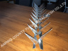 Galvanized Steel Wall Spike / Security Spike
