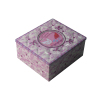 glossy square valentine gift tin box factory