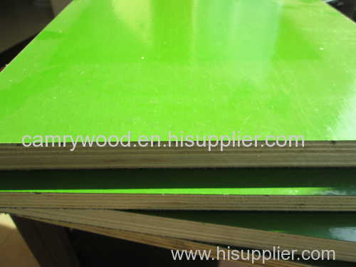 plastic plywood / plastic film faced plywood / plastic faced plywood