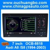 Ouchuangbo Car Radio Head Unit Stereo DVD System for Audi A8 /S8(1994-2003) GPS Navigation iPod USB