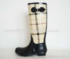 Womens Printed Hunting Style Rubber Boot Latest Wellington Boots