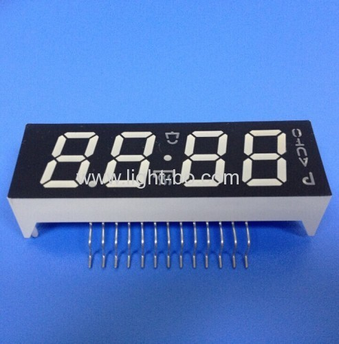 Custom Blue 7 Segment LED Display for 6 Key Digital Ovven Timer Control