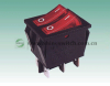 Shanghai Sinmar Electronics Double Rocker Switches 10A250VAC 3PIN Round Ship Paddle Switches