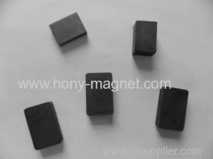 Rare earth ndfeb custom made bonded magnet block