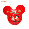 Mickey mouse shape tin box for X'-mas