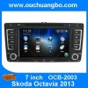 Ouchuangbo Auto Radio DVD Player for Skoda 2013 GPS Navigation iPod USB TV Stereo DVD System