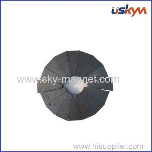 customized hard ferrite magnet for sale
