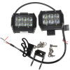 4 inch 18w 1260 LM Off Road ATV SUV Mine Boat LED Flood Work Light