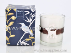 170 scented candle with animal plaster