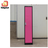 2 Color Clothes Wardrobe KD Structure 1 Door Storage Steel Locker