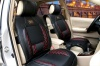 Car accessories manufacturer selling new arrival four seasons universal five pieces one set black orange beige