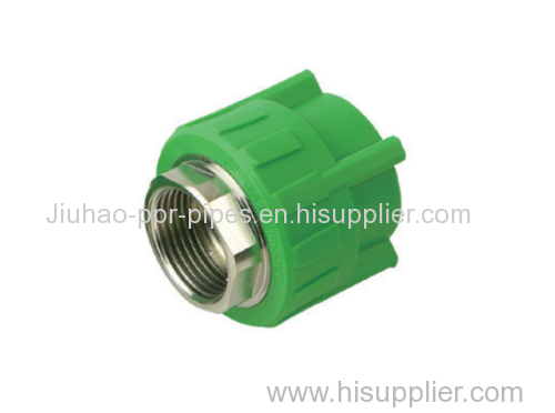 PPR fitting male treaded coupling with PN 25 green