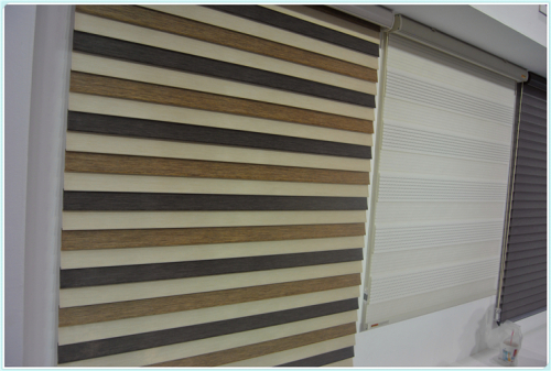 mini black-out or daylight fabric plain solid color roller blinds