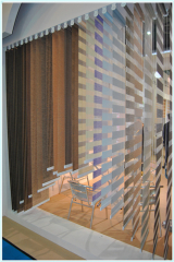 100% polyster Jacquard arcylic coated 280cm width fabric blackout roll blinds fabric in china
