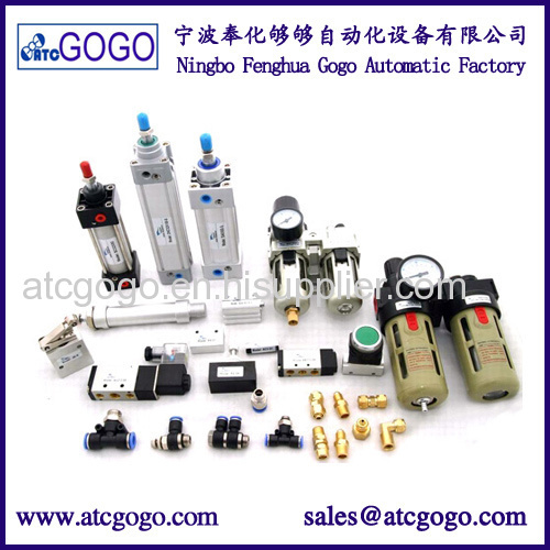 Pneumatic product solenoid valve air cylinder Air Source Treatment Unit fittings